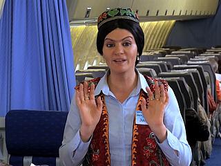 НАШ ВЕСЁЛЫЙ КИНОЗАЛ. Узбекские авиалинии