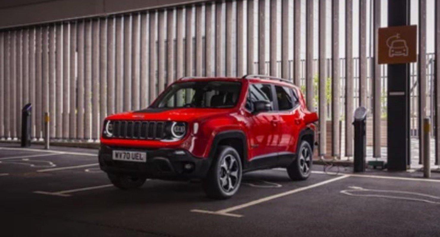 Новый Jeep Renegade 4xe сообщит владельцу об угоне Автомобили