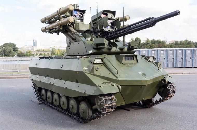 Россия начала серийное производство боевых роботов