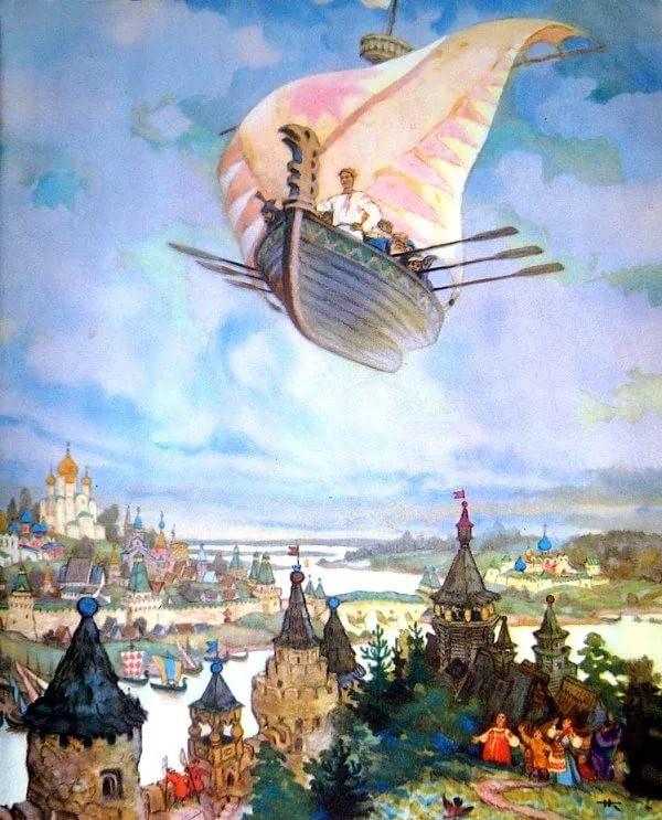 Чтобы помнили. Русские волшебные сказки в иллюстрациях художника Н.М. Кочергина