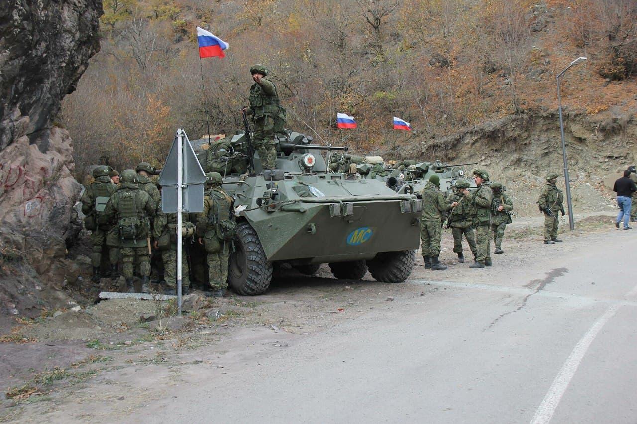 Комедия согласия войска,Нагорный Карабах,политика,россияне