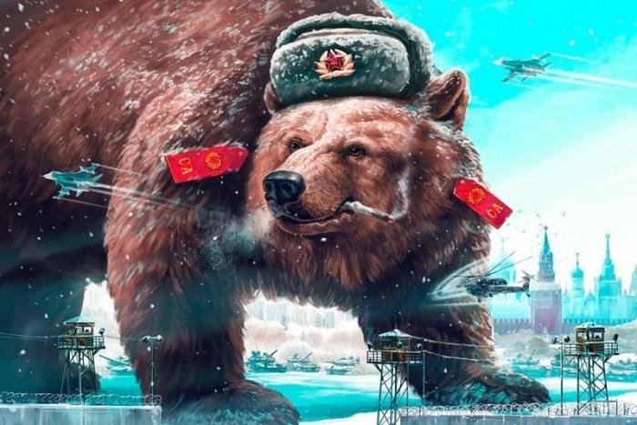 Вот почему одним из символов России является медведь приколы,шикарные фотографии