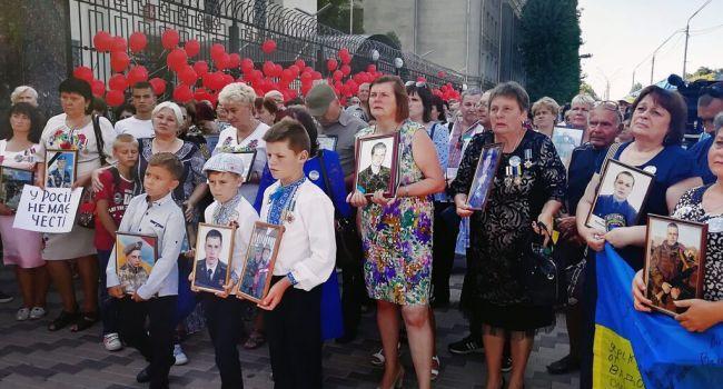 Родственники погибших укровоинов обратились к России