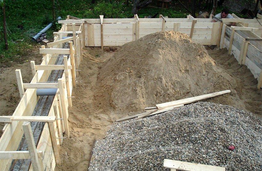 лучший бетон для ленточного фундамента