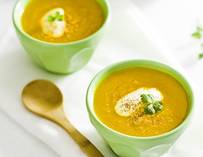Как сделать постный крем суп