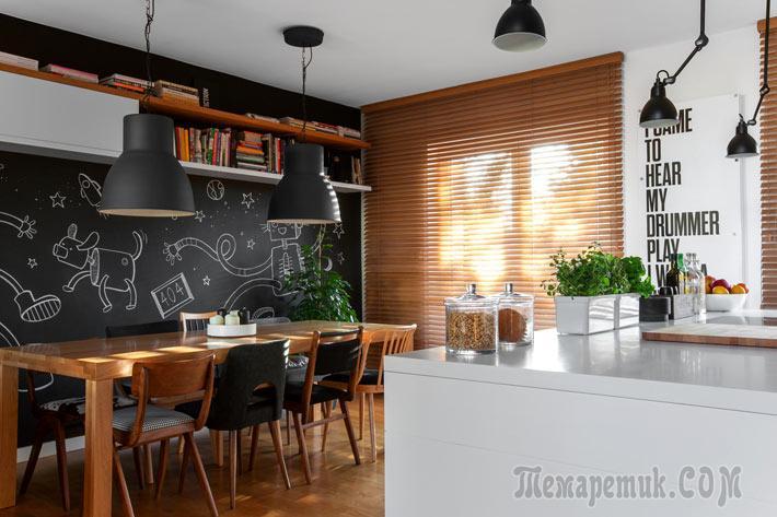 Продуманный многофункциональный дизайн дома в Польше