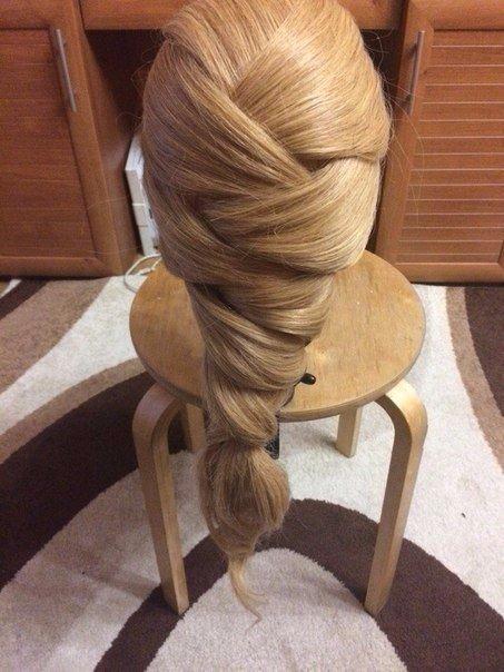 СЕКРЕТЫ КРАСОТЫ. Причёска для длинных волос