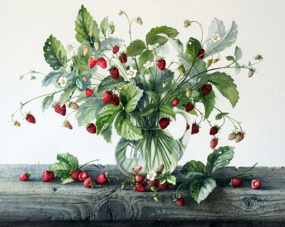 Картинки с ягодами декупаж