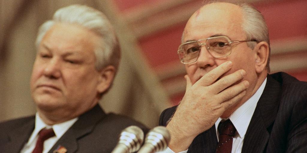 Письмо Бориса Ельцина Михаилу Горбачеву в Пицунду