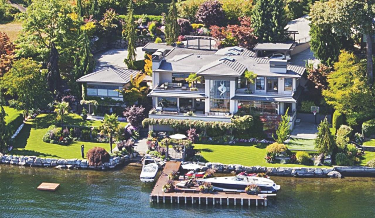 20 невероятных фактов о доме Билла Гейтса