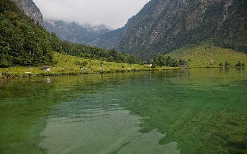 Озеро Оберзее, Германия