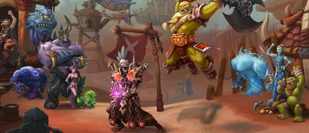 Художник показал, как мог бы выглядеть файтинг по World of Warcraft mmorpg,pc,world of warcraft,Игры