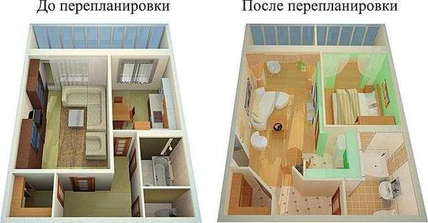 Из-за какой перепланировки могут отобрать квартиру?