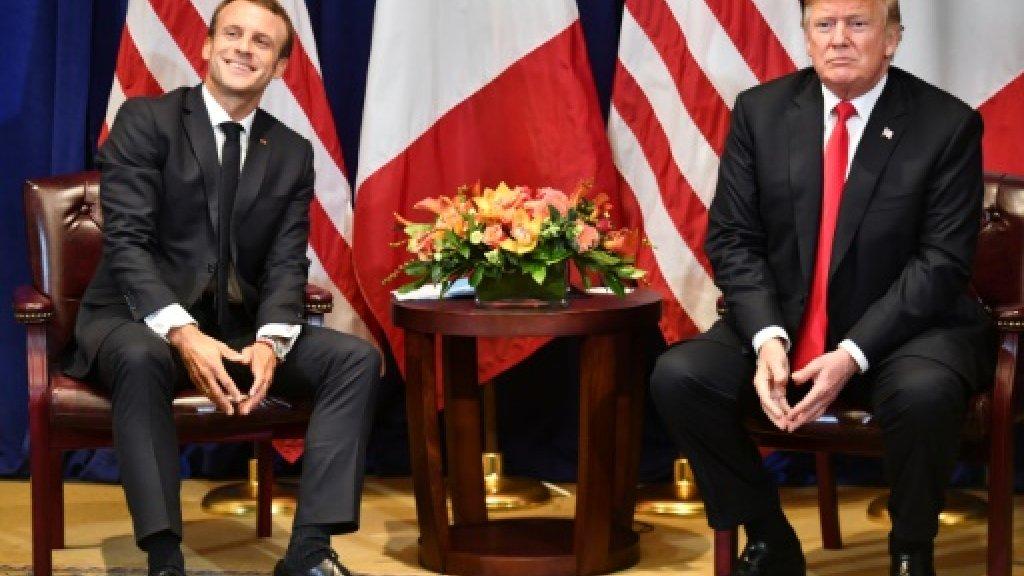 """МИД Франции - Д.Трампу: """"Оставьте нашу страну в покое!"""""""