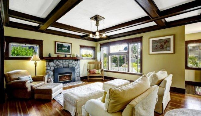 Забытое измерение: потолок как главный акцент интерьера