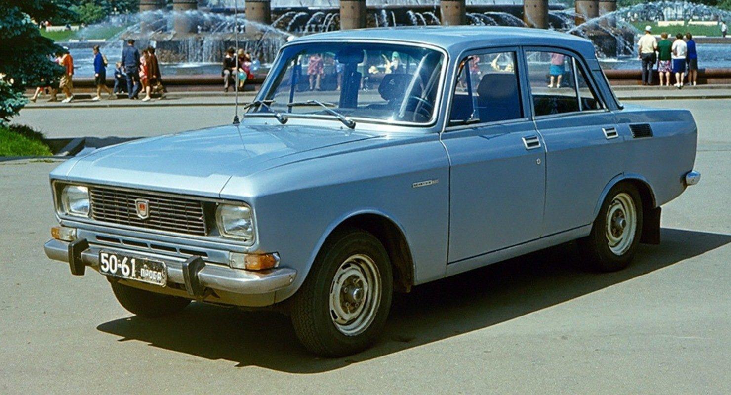 Две провальные модели советских авто Исследования