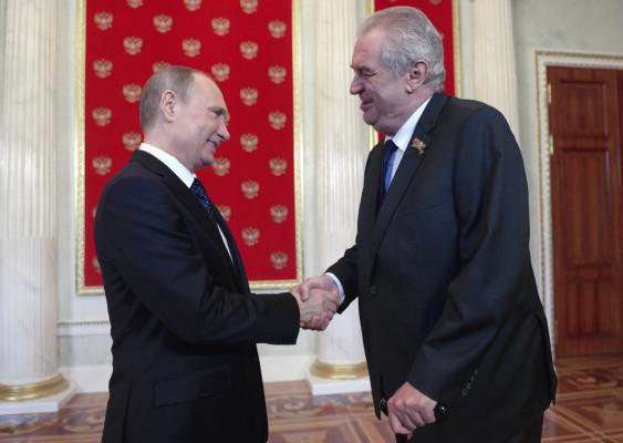 Президент Чехии Земан расска…
