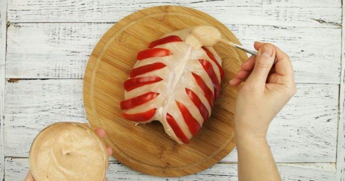 Простой и эффектный способ приготовление куриной грудки