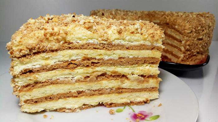 """Вкусный торт """"Сметанник"""" на …"""