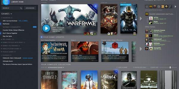 Valve представила редизайн библиотеки Steam Steam