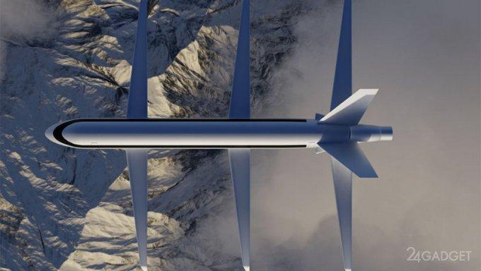 Создан самолет SE200 с тремя парами крыльев