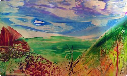 Картина, панно, рисунок, Мастер-класс Энкаустика: как я рисую утюгом Воск. Фото 16