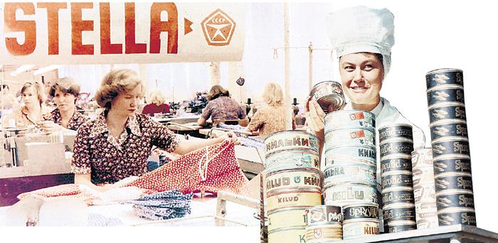 В советской Эстонии динамично развивалась химическая, текстильная, пищевая, электро- и радиотехническая промышленность, судостроение и приборостроение. Где теперь это все...