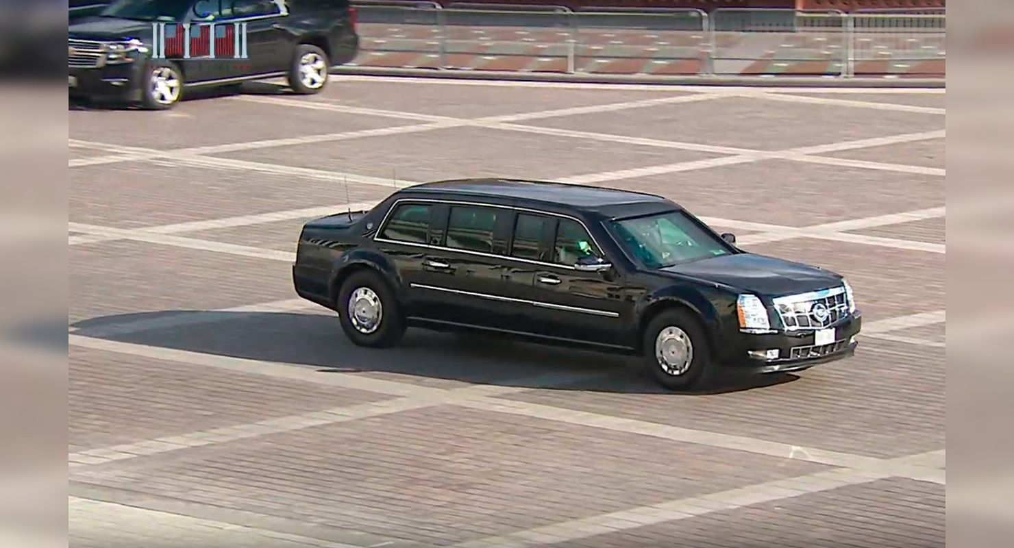 Байден пересел на «Зверя». Что известно о президентском лимузине Автомобили