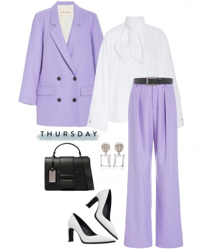 5 стильных образов на неделю в модных сетах мода и красота,модные образы,модные сеты,одежда и аксессуары