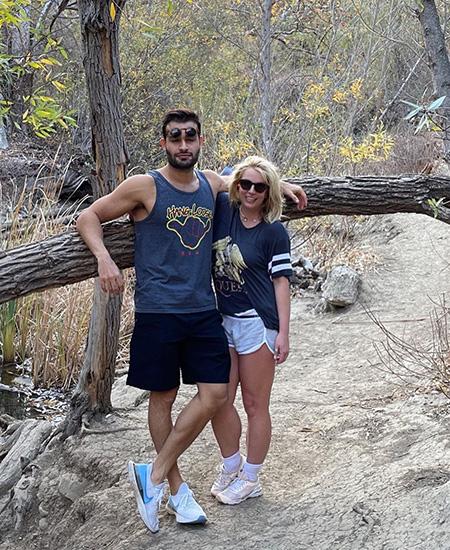 """Бывший муж Бритни Спирс Кевин Федерлайн отреагировал на ее помолвку с Сэмом Асгари: """"Очень рад за нее"""" Звездные пары"""