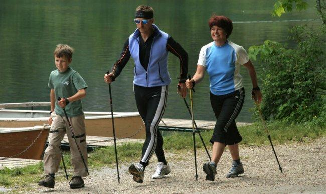 Новый вид спорта - Нордическая ходьба
