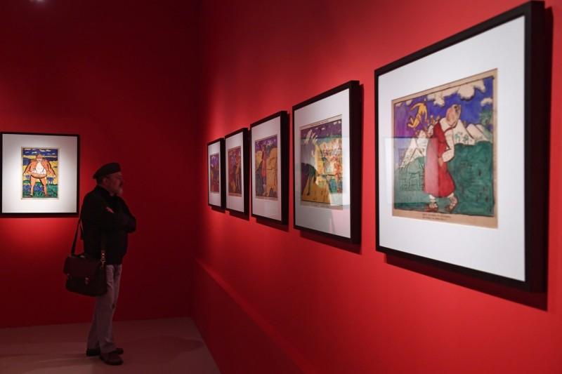 В Москве открылась выставка Малевича