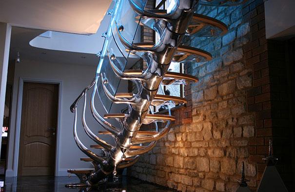 дизайн лестниц в интерьере фото