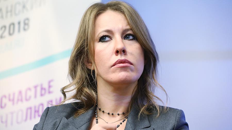 Ксения Собчак рассказала, что зарабатывает примерно как лошадь
