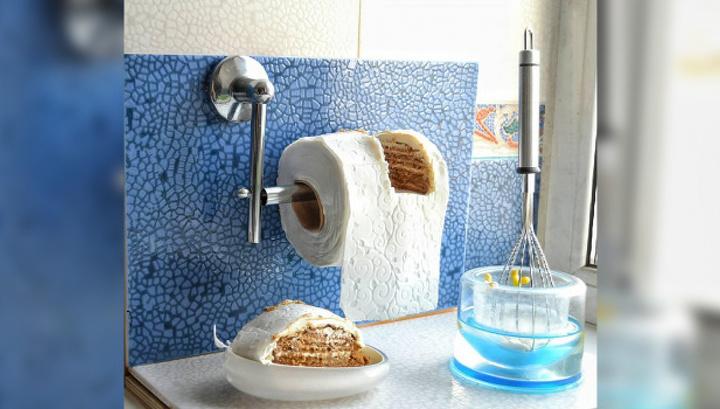 Ажиотаж вокруг COVID-19: воронежских кондитеров вдохновила туалетная бумага Общество