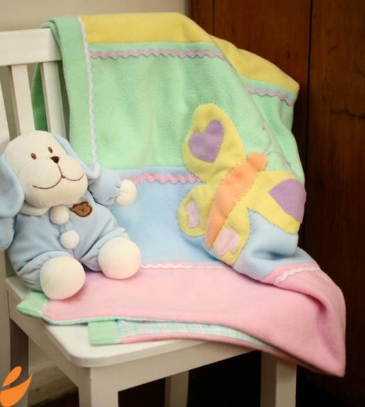 ШЬЕМ, ШЬЁМ, ШЬЁМ... детское одеяло из флиса