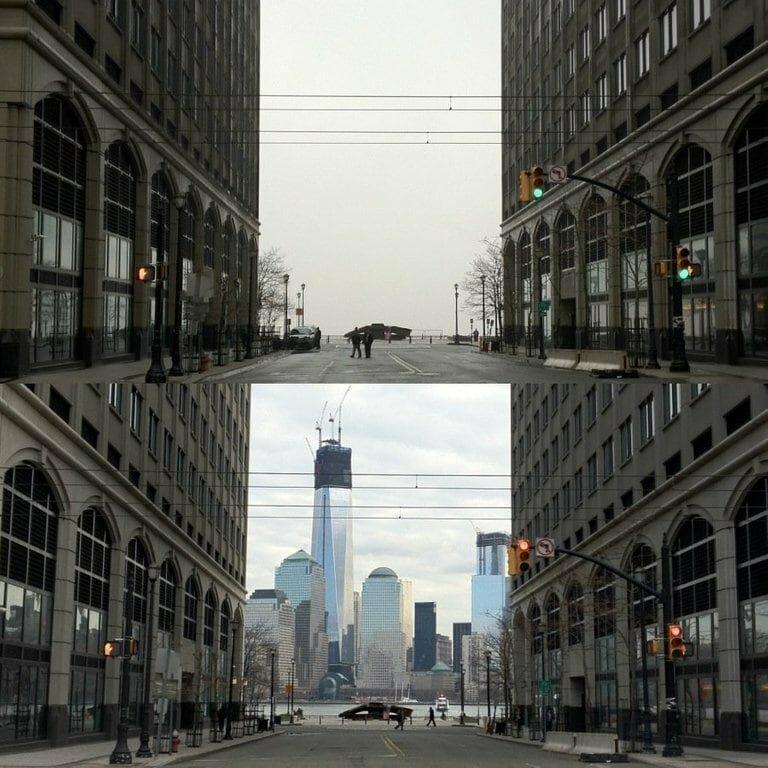 12. Во время тумана и после было стало, в мире, люди, подборка, сравнение, фото