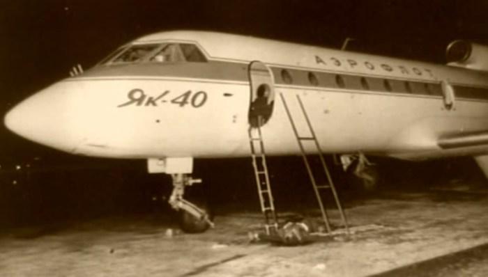 «Як-40» после окончания штурма. / Фото: www.wikipedia.org