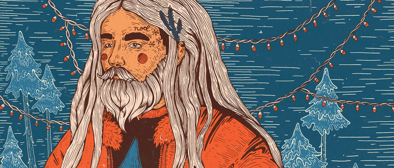 Инфографика недели: Дед Мороз против Санты