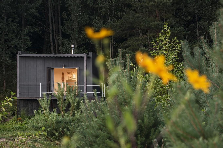 Загородный дом 14 квадратных метров в Литве