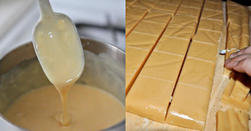 Фадж из белого шоколада