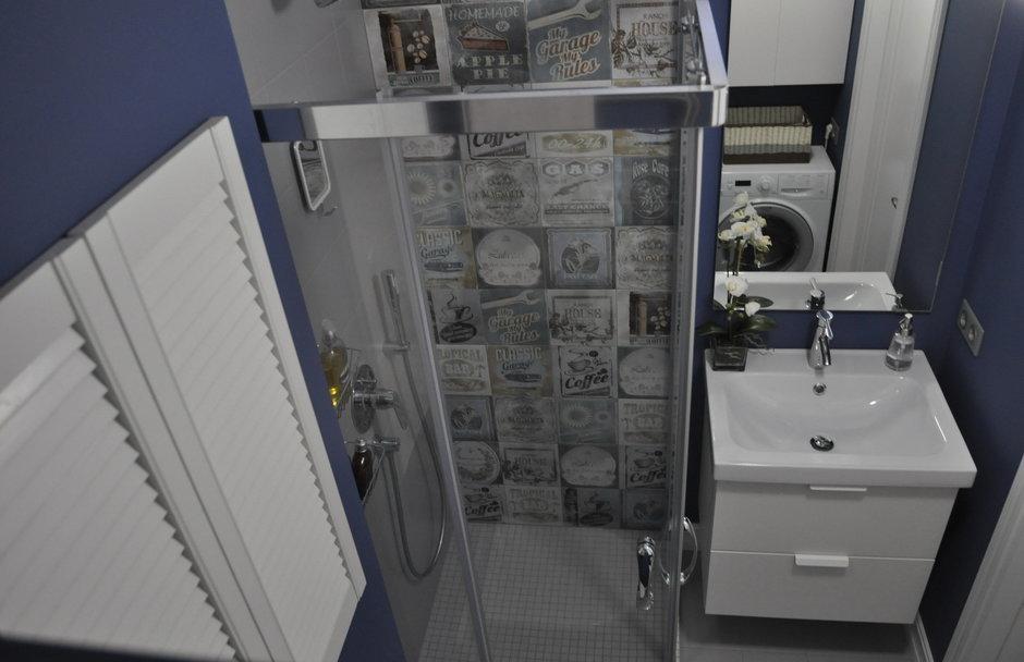 Фотография: Ванная в стиле , Россия, Переделка, Москва, Герой InMyRoom – фото на InMyRoom.ru