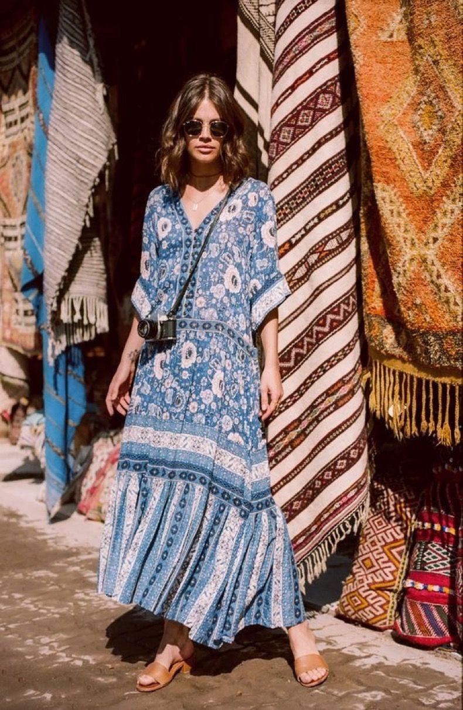 Летние платья в стиле бохо фото 10