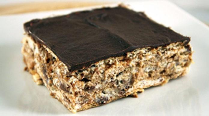 Обожаю такие десерты: Торт из печенья без выпечки. Получаются всегда бесподобно!