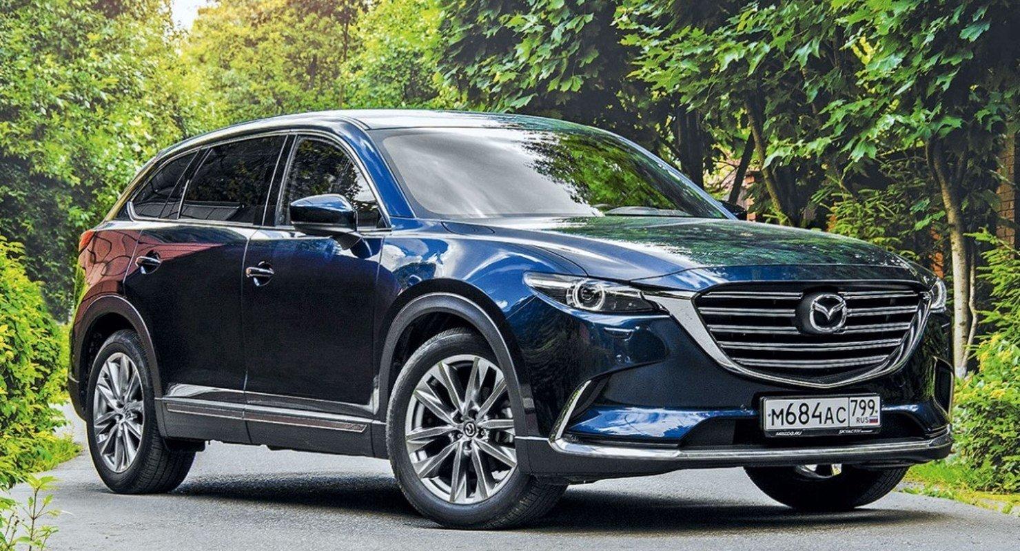 В Сети показали новую Mazda CX-9 Автомобили