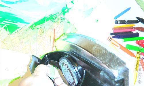 Картина, панно, рисунок, Мастер-класс Энкаустика: как я рисую утюгом Воск. Фото 14