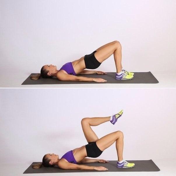Упражнения на ноги, ягодицы и пресс