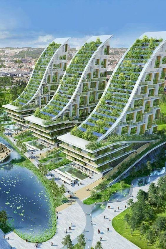 Как думаете - доживем мы с вами до такого будущего? архитектура, интересное, концептуальные фантазии, фабрик аидей