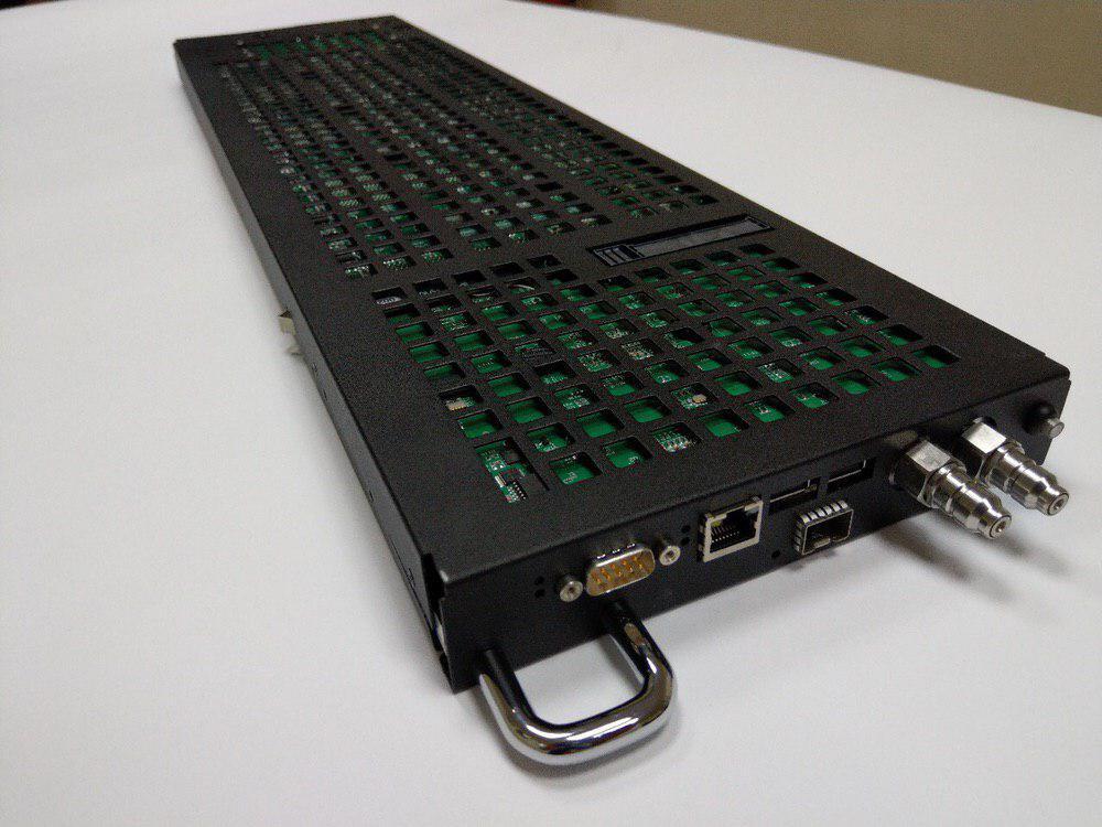 Первый суперкомпьютер на базе процессоров «Эльбрус»