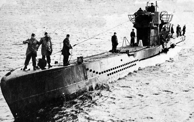 Как из-за сломанного гальюна погибла немецкая подлодка U 1206